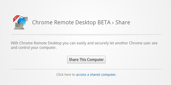 Remote Desktop Extension