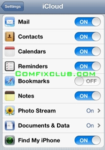 Backup iPhone by iTunes iCloud1