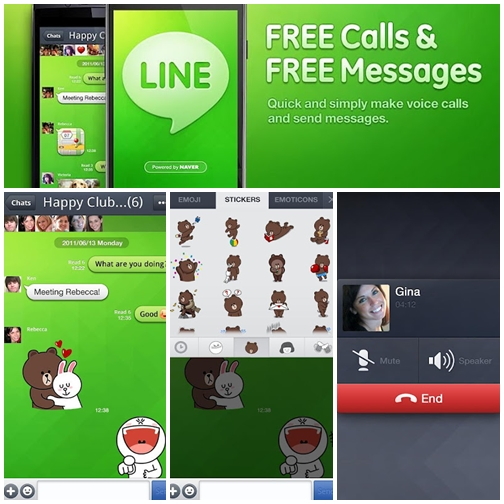 LINE App Chat Phone Android PC Mac os