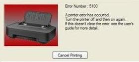 วิธีแก้ไขปัญหา Canon MP145 ขึ้น error E22 หรือ error 5100