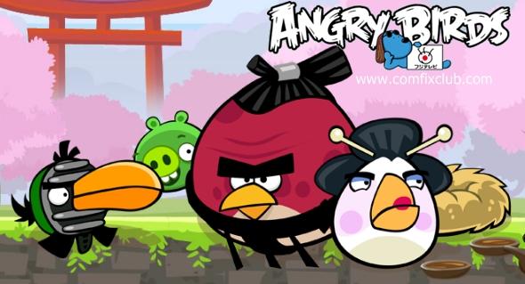 Angry Birds Sakura Ninja