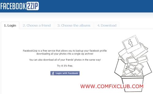Facebook2Zip