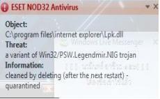 Lpk Usp10 dll virus