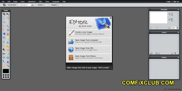 Pixlr Editor
