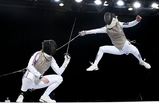 London 2012 fencing
