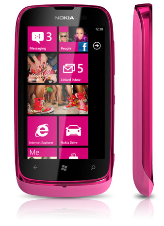 Nokia Lumia 610 Red