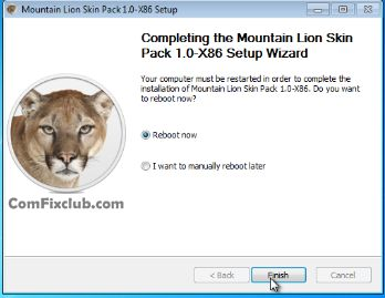 OS X Mountain Lion Theme for Windows 7