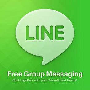 LINE มียอดผู้ใช้กว่้า 50 ล้านคนทั่วโลกแล้ว