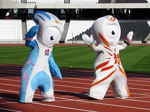 Opening ceremony London 2012 ตุ๊กตาสัญลักษณ์โอลิมปิก 2012