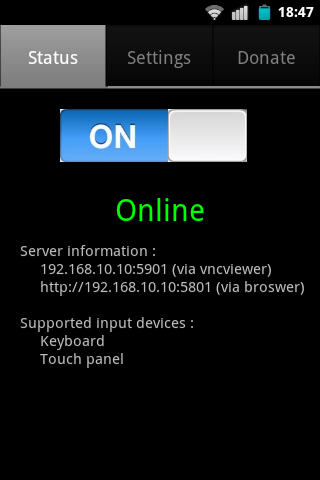 how to connect to vnc server