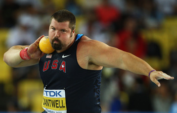 London 2012 shot put