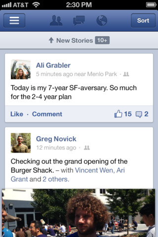 Facebook for iOS 5.0