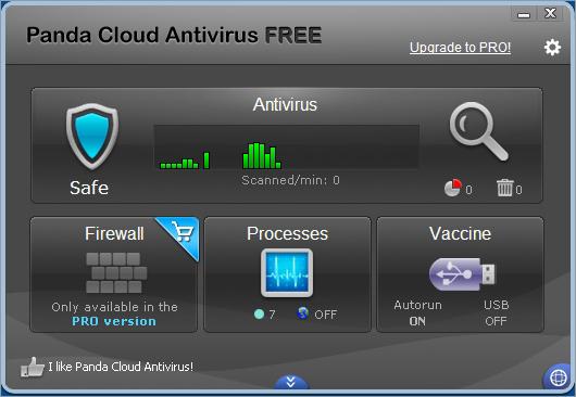 Panda Cloud Antivirus Free โปรแกรมป้องกันไวรัสทดลองใช้ฟรี
