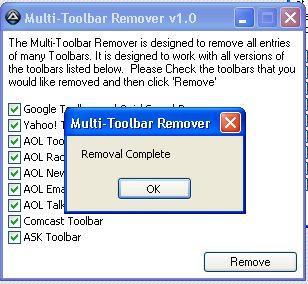 ลบ Toolbar ทีละเยอะๆ ด้วย Multi-Toolbar Remover