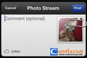 Share Photo Streams