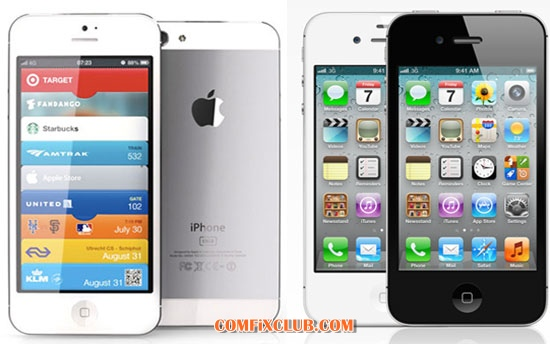 iPhone 5 vs iPhone4s