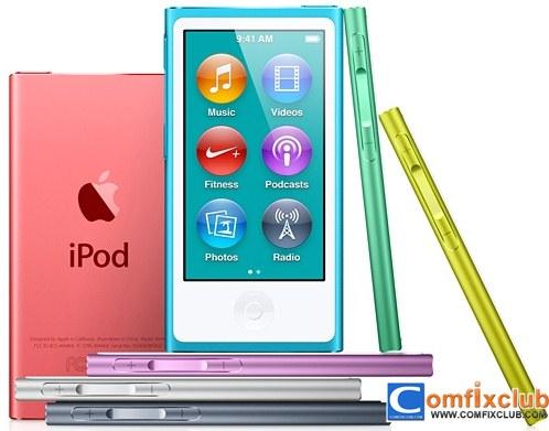 iPod nano ใหม่ล่าสุด iPod nano 7