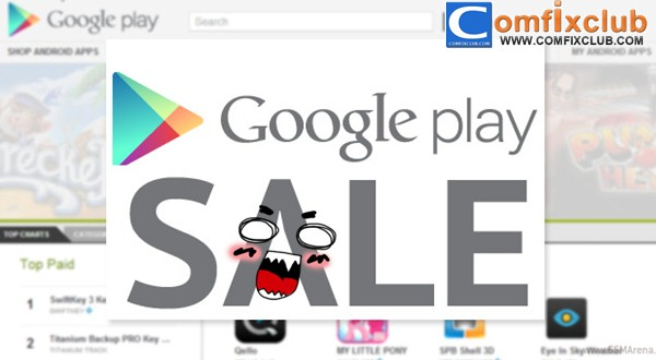 Play Store ลดราคาแอพในช่วง Black Friday