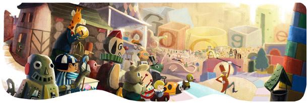 สุขสันต์วันดีๆ Google ขอส่งความสุขในเทศกาลวันหยุด !