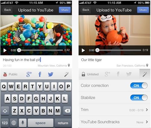 YouTube Capture บันทึกวิดีโอแล้วใส่ฟิลเตอร์แบบ Instagram ได้ทันที