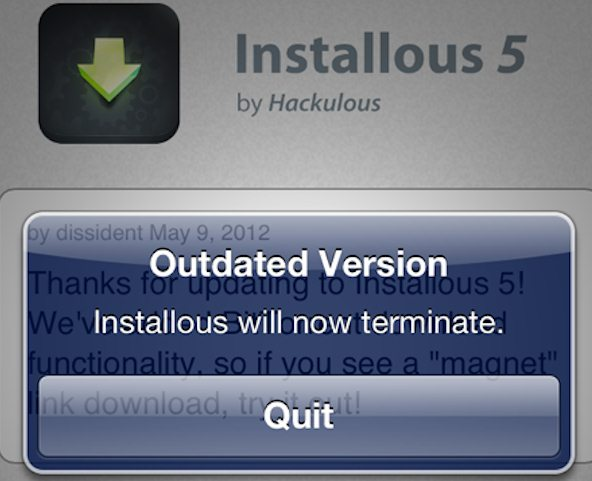 Hackulous shutting down installous apptrackr iphone