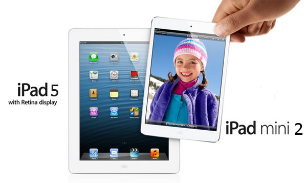 iPad Mini 2 และ iPad 5 ลือว่าเปิดตัวเดือนมีนาคมนี้