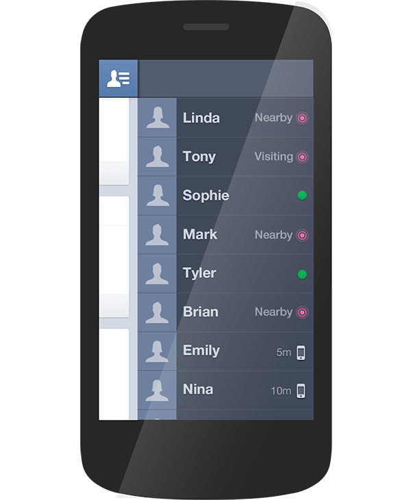Facebook Phone HTC Myst