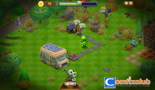 Plants vs Zombies Adventures ภาค 2 เล่นบน Facebook