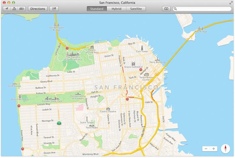 OS X Map