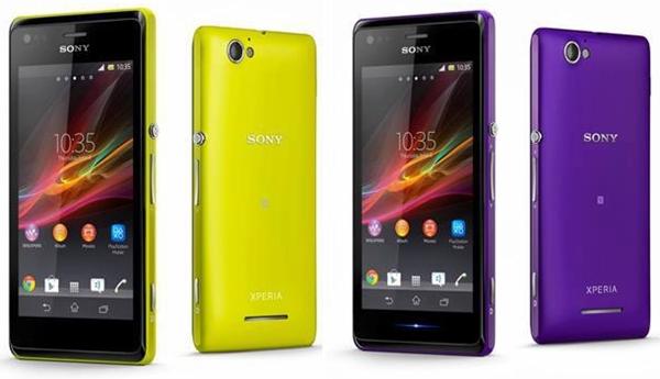 Sony Xperia M และ Sony Xperia M Dual