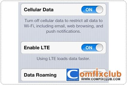 iPhone 5 อัพเดท Carrier รองรับ 4G LTE แล้ว