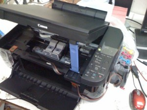 Canon mp287 error P07 MP287 Services mode mp287