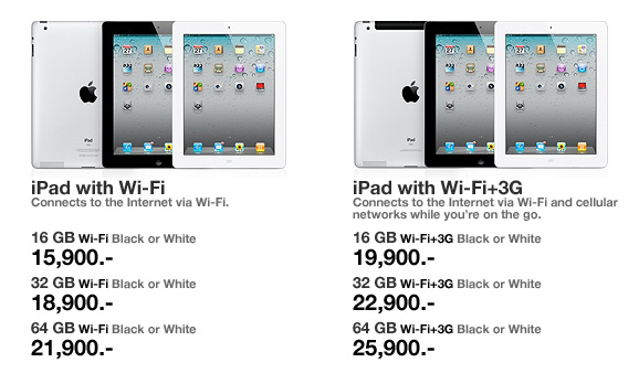 iPad 3 ราคา