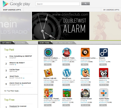 วิธีลงแอพ Android ผ่านคอม โดยใช้ Google Play