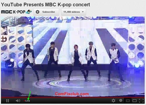MBC K-pop concert 2012