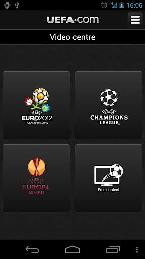 Official UEFA EURO 2012 app