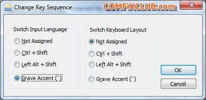 เปลี่ยนภาษาใน windows 7