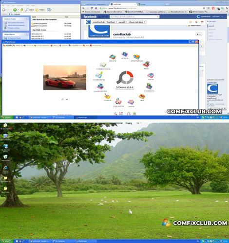 Windows+D