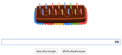 Google 14th Birthday