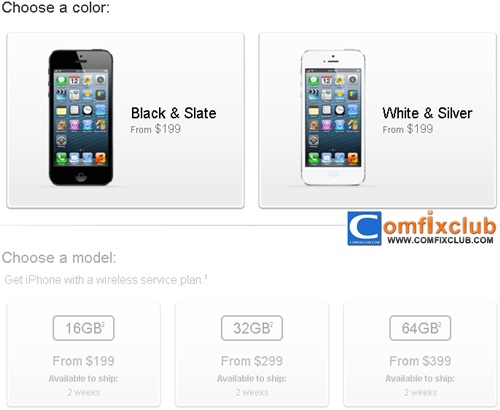 สั่งจอง iPhone 5 ได้แล้วใน 9 ประเทศแรก