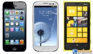 iPhone 5 Galaxy S3 Lumia 920