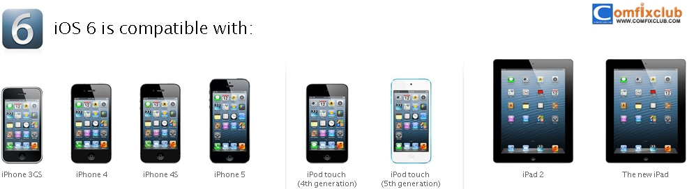 ios 6 is compatible with