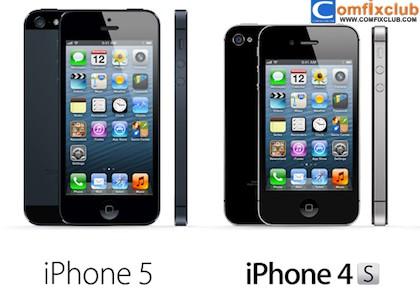 เปรียบเทียบ iphone 5 กับ iphone 4s