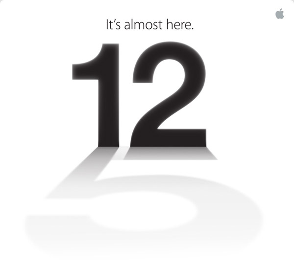 Apple ประกาศเปิดตัว iPhone รุ่นใหม่ 12 กันยายน 2555
