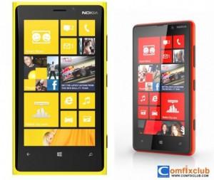 ราคา Nokia Lumia 920 ราคา Nokia Lumia 820