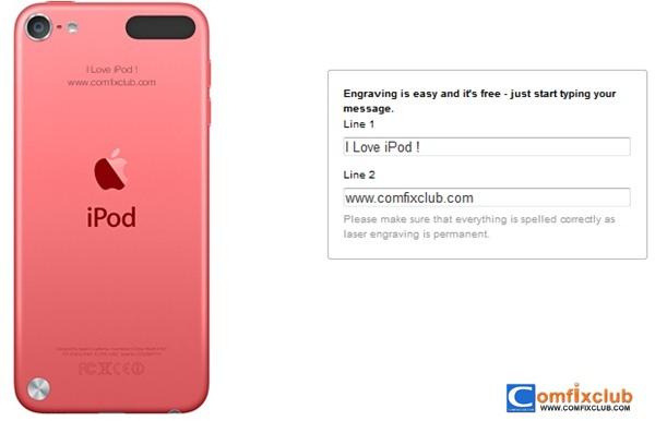 สั่งซื้อ iPod Touch 5 บน Apple Store ได้แล้ว ราคา 9,900 บาท