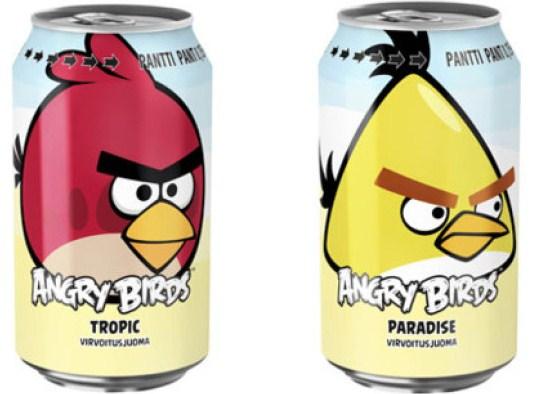 Angry Birds soda น้ำอัดลม Angry Birds ที่ฟินแลนด์ขายดีกว่า Coke และ Pepsi