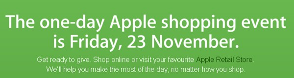 Apple Store Australia Black Friday 2012