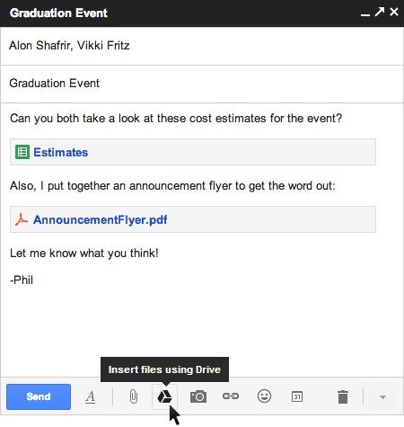 Gmail แนบไฟล์ใหญ่ได้ถึง 10GB โดยเชื่อมกับ Google Drive