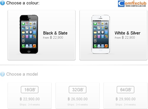 iPhone 5 Apple Store Online
